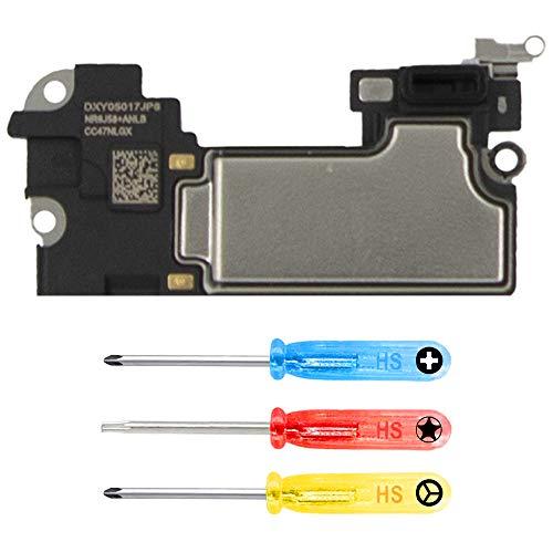 MMOBIEL Earspeaker Compatible with iPhone XR 6.1 inch Ear Speaker Earpiece Sound Listening Assembly incl. Screwdrivers