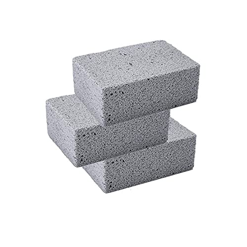 ASY Bloque De Ladrillos para Limpieza De Parrillas, Piedra Pómez Ladrillos para Limpieza De Parrillas, Ladrillos De Piedra Pómez Que No Rayan, Ladrillos Ecológicos para Limpieza De Parrillas
