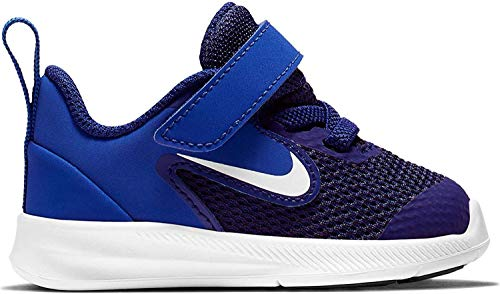 Nike AR4137-400: Toddler's Blue/White Downshifter 9 Running Sneakers (5 M US Toddler)