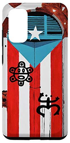Galaxy S20 Puerto Rico Flag Coqui Sun Taíno Case Boricua Pride Cover Case