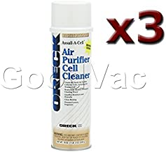 (Pack of 3) Oreck Air Purifier 19oz Assail-A-Cell Cleaner Cans. Part Number: 32358 by Oreck