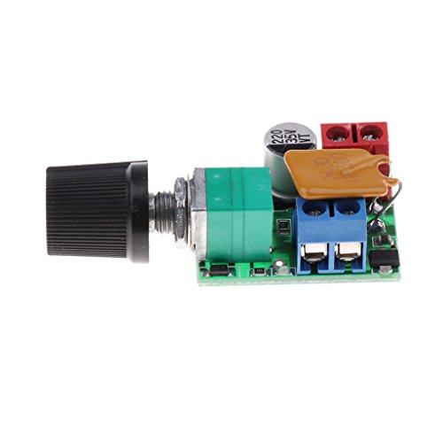 yotijar Conducto Del Interruptor de Control de Velocidad Del Regulador Del Motor 3v-35v 5a PWM