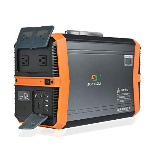 Sungzu 1500W Portable Power Station,...