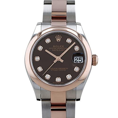 ロレックス ROLEX デイトジャスト 31 278241G チョコレート文字盤 腕時計 ユニセックス (W196926) [並行輸入品]