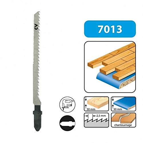LEMAN 701305 - Blister 5 hojas de sierra de calar 75 mmx2.5