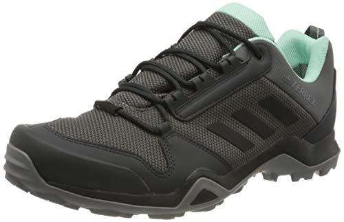 Adidas Terrex AX3 GTX W, Zapatillas de Deporte para Mujer, Gris (Grey/Core Black/Clear Mint 0), 37 1/3 EU
