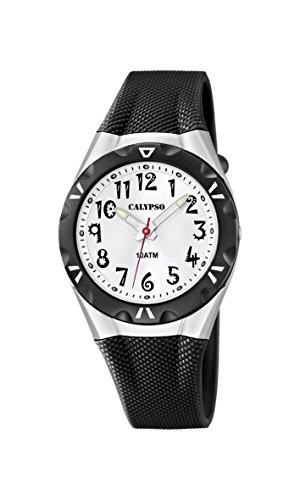 Calypso Reloj Analógico para Mujer de Cuarzo con Correa en Plástico K6064/2