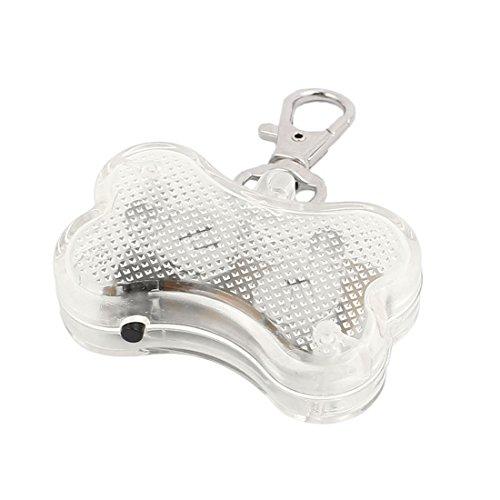 Aexit Multicolor LED-Licht Knochenform Hund Blinker Flashing Sicherheit Anhänger Halsband Geschenk (14b7585d00816b41e0377129cf99485d)