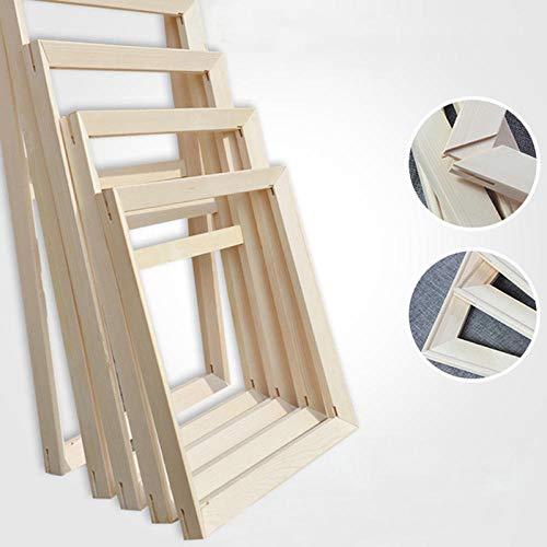 Alicest leinwand bilderrahmen keilrahmen Echtes Naturholz Rahmengröße 34 x44cm,für Ölgemälde und Farben nach Zahlen leinwand bilderrahmen(4 Streifen) -Pine