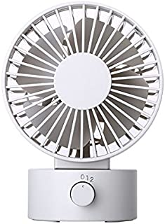TT WARE 4 Inch Portable Mini Fan USB Cooler Cooling Fan Silent Adjustable Fan-White