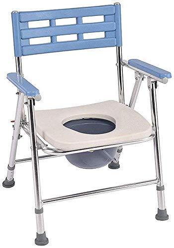 Pyrojewel Aseo Silla de tijera viejo hogar del tocador de las mujeres embarazadas de asiento de inodoro inodoro discapacitado silla de baño heces