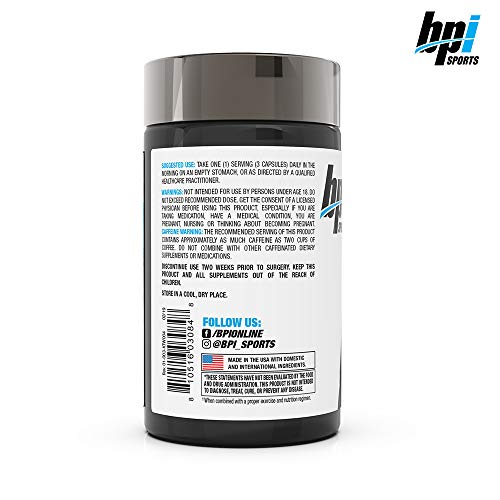 BPI Sports Keto Weight Loss - Ketogenic Fat Burner - Keto Weight Loss Pills - Raspberry ketones - Supports Mental Focus - Promotes Endurance - Burn Fat for Fuel - 75 Capsules 4