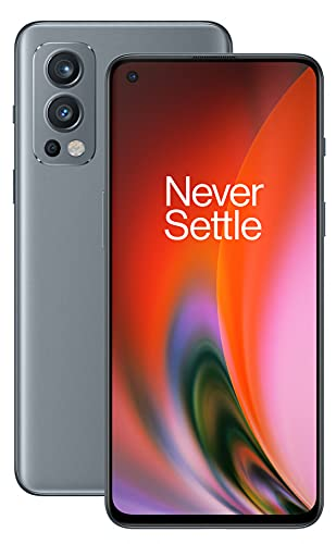 OnePlus Nord 2 5G con 8GB RAM y 128GB ROM de memoria con Cámara triple y 65W Warp Charge - 2 años de garantía - Grey Sierra