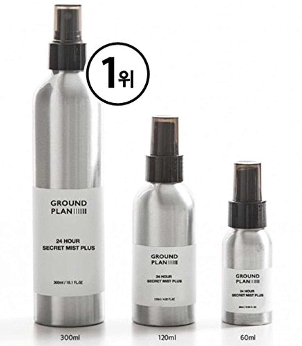 トライアスリートハチイデオロギー[グラウンド?プラン] 24Hour 秘密 スキンミスト Plus (60ml) Ground plan 24 Hour Secret Skin Mist Plus [海外直送品]