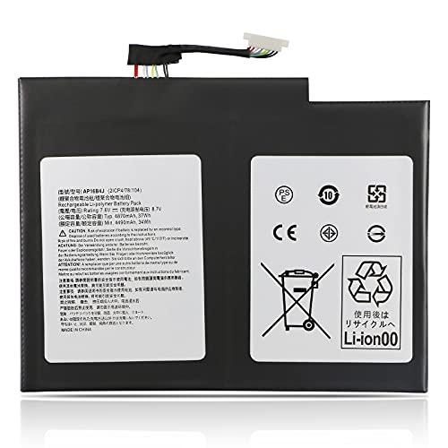 TIIANTE AP16B4J Laptop Battery for Acer Aspire Switch Alpha 12 SA5-271-300K 30MS 31YN 3941 50NM 53ZX 57QJ 58MA 60NN 711M 71EJ 38H4 Switch 5 SW512-52-363J 513B 50XX 55A4 Switch 7 BE SW713-51GNP-87M8