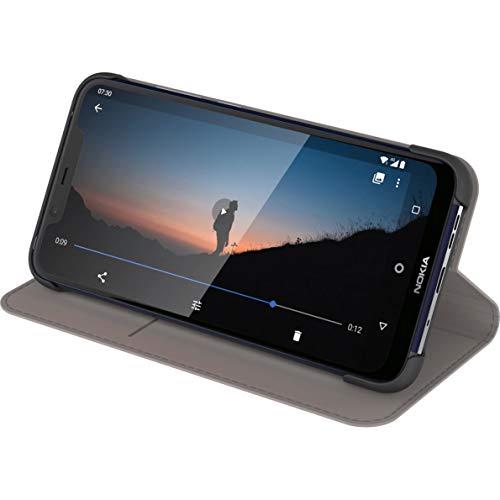 Nokia CP-254 Funda y Soporte para Teléfono Compatible con Nokia 5.4, Funda con Tapa para Protección de Pantalla 360, Funda para Booklet y Soporte para Teléfono con Modos de Visualización Múltiple