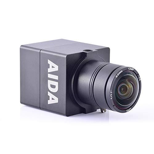 AIDA UHD-100A Micro 4K Ultra HD HDMI 1.4 Professional POV Camera with TRS Stereo Audio Input, Multi HD Format