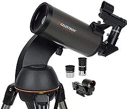 Celestron - NexStar 90SLT Computerized Telescope - Compact and Portable - Maksutov-Cassegrain Optical Design - SkyAlign Technology - Computerized Hand Control - 90mm Aperture