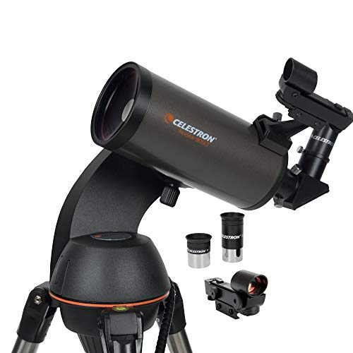 Celestron - NexStar 90SLT Computerized Telescope - Compact and Portable - Maksutov-Cassegrain Optical Design - SkyAlign Technology - Computerized Hand Control - 90mm Aperture