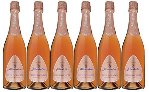 Affentaler Winzer Pinot Rosé Sekt trocken Naturkork (6 x 0,75L)