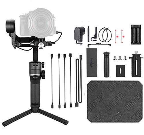 Zhiyun Weebill S Zoom/Focus Pro Package 3-Axis Handheld Gimbal Stabilizer for DSLR &Mirrorless Camera Canon 5DIV 5DIII EOS R Sony A7M3 A7R3 A7 III A9 Panasonic S1 GH5s BMPCC 4K Nikon Z6