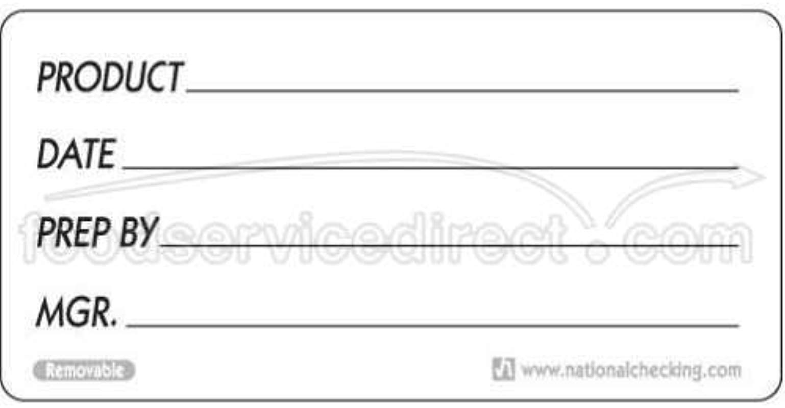 National Checking Company Dateit Product Removable Label 2 X 4 Inch 500 Per Case