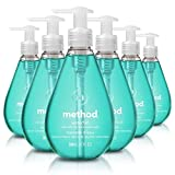 Method Gel Hand Soap, Waterfall, 12 Fl Oz (Pack of 6) antibacterial soaps May, 2021