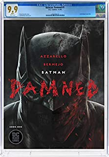 Batman Damned #1 - CERTIFIED CGC 9.9 MINT - White Pages - Modern-Age Key