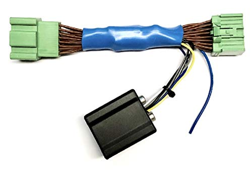 Add An Amp Amplifier Adapter Interface w/Amp Remote Turn On Wire to Factory OEM Car Stereo Radio System for select GM Vehicles- Add Subwoofer Bass Amp etc.- No Factory Premium Amp/Bose- See Compatible Vehicles listed below- No 7 inch Factory Radio