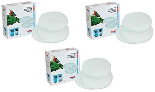 EHEIM Almohadilla de filtro fino (blanco) para filtro externo clásico 2215 – 9 filtros totales (3 paquetes con 3 por paquete)