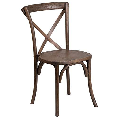 Flash Furniture HERCULES Series Early American Cross Back Chair