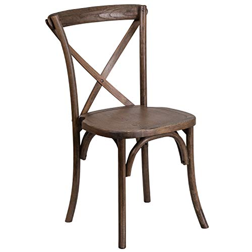 Flash Furniture HERCULES Series Early American Cross Back Chair