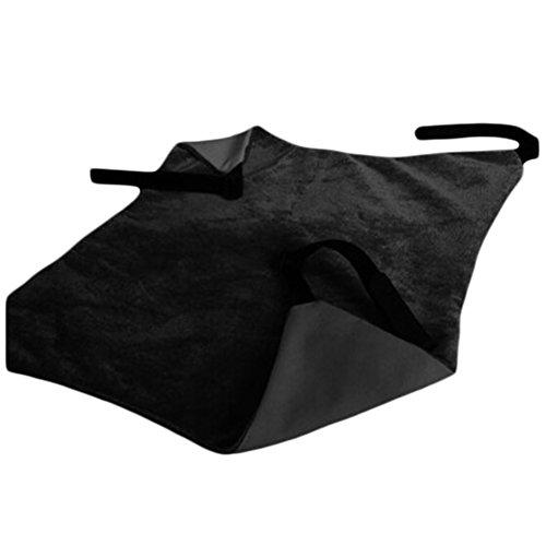 E-House Swaddling Dekens Fleece Bed Deken Zachte Lichtgewicht Warm Zachte Kitten Kat Hangende Lounge Bed Slapende Mat Huisdier Onder Stoel Hangmat - Zwart Zwart