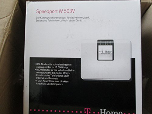 T-Home Speedport W503V WLAN Modem Router