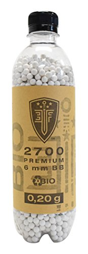 Elite Force Bio Selection Airsoft Munition Flasche, Weiß, One Size