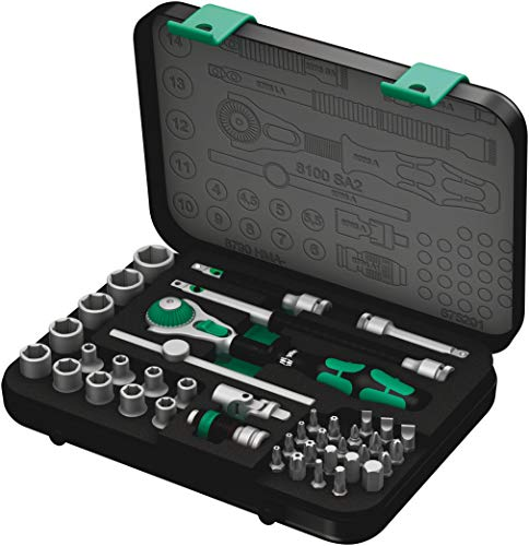 Wera 8100 SA 2 Zyklop Speed-Knarrensatz,...