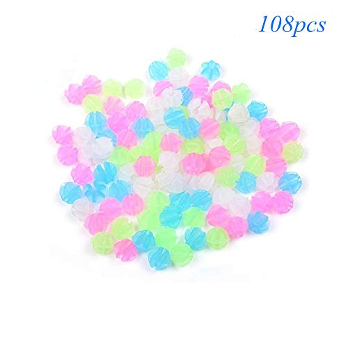 Cloud River Spoke Decorations Bicycle Wheel Spokes Luminous Plastic Beads