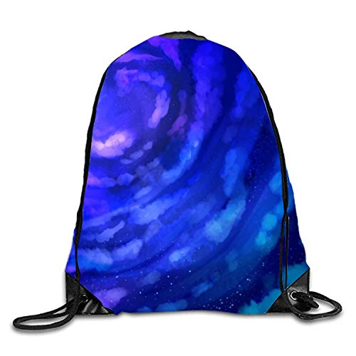 uykjuykj Coulisse Sacchetto,Zaino Coulisse Sacchetto, Simple Pineapples Sackpack Drawstring Backpack Waterproof Gymsack Daypack for Men Purple Sky10 Lightweight Unique 17x14 in