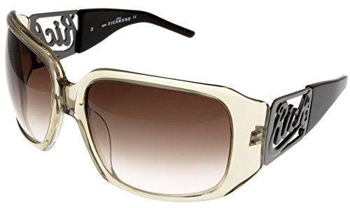 John Richmond Sunglasses Womens JR632 04 Transparent Brown