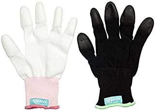 Apalus Professional Heat Resistant Glove for Hair Styling Heat Blocking for Curling, Flat Iron and Curling Wand Suitable for Left and Right Hands,2 PCS Pack