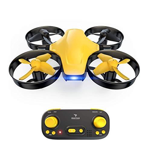 SNAPTAIN SP350 Mini Drohne, Quadrocopter mit 3 Akkus für 21 Minuten Flugzeit, RC Drone, Mini Helikopter mit Kopfloser Modus, Throw'N Go, 3 Geschwindigkeitsmodi, Spielzeug Drohne für Anfänger Kinder