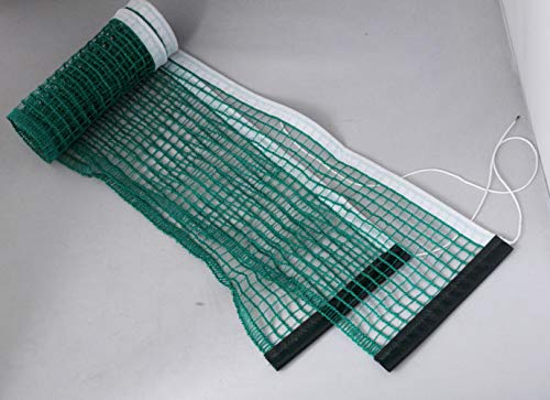 Ammaco. Table Tennis Ping Pong Replacement Indoor Fun Activity Table Net Outdoor Indoor Tables Home Tournament Net Green/White Mesh Nylon (Net Only)