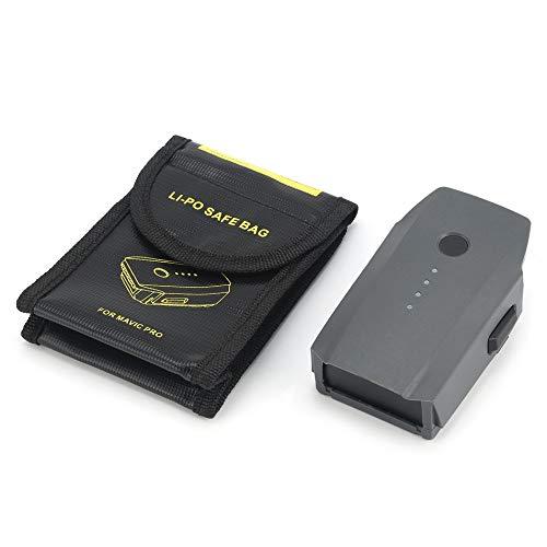 Silverdrew 11.4V 3830mAh 3S Reemplazo Inteligente de batería de Repuesto LiPo para dji Mavic Pro/Platinum FPV RC Drone con Bolsa Segura