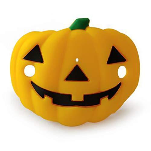 Caresmollett Lindos pechos de Halloween,calavera calabaza vampiro,chupete cómico,chupetón de dientes.(None 2)