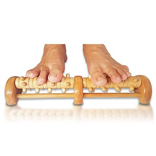 TheraFlow Deep Tissue Foot Massager Roller (Dual Foot). Plantar Fasciitis &...