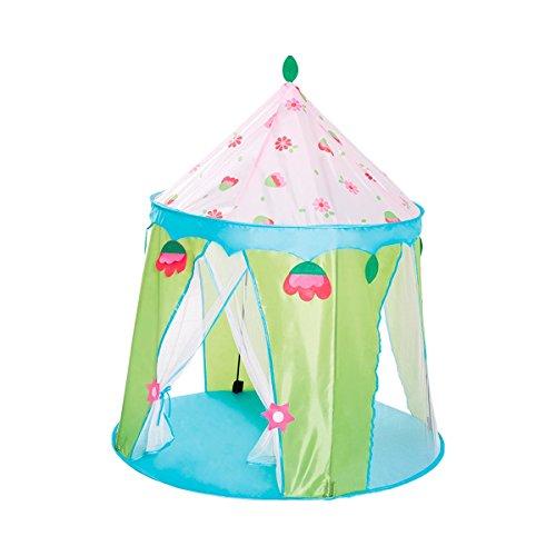 solini Spielzelt Feenhaus – Kinder-Spielzeug – Spielhaus für kleine Feen – geeignet ab 3 Jahren – Mehrfarbig
