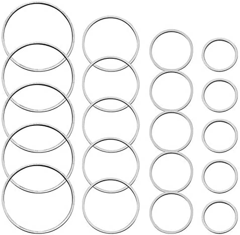 70pcs Earrings Beading Hoop Earring Finding Silver Round Earring Circle Charms Open Bezel Pendant product image