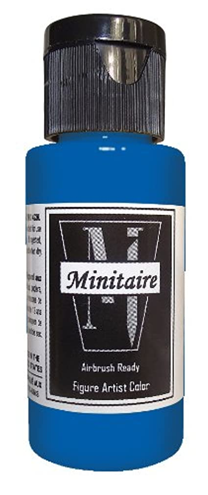 Badger Air-Brush Company 2-Ounce Bottle Miniature Airbrush Ready Water Based Acrylic Paint, Ghost Tint Blue