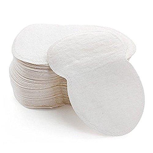 Patch anti-transpirants, pads pour aisselles, couleur peau, doux et absorbants Aohro 50/100/200 pièces (50pcs)