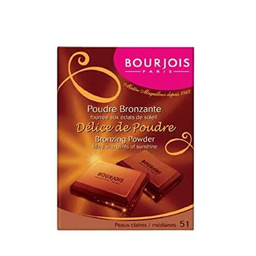 Bourjois Délice De Poudre - Bronzing Powder 51 Light/Median Complexions